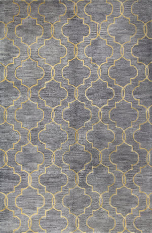 Bashian Greenwich R129-Hg266 Grey Area Rug