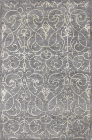 Bashian Greenwich R129-Hg305 Grey Area Rug