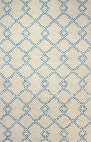 Bashian Greenwich R129-Hg265 Ivory - Blue Area Rug