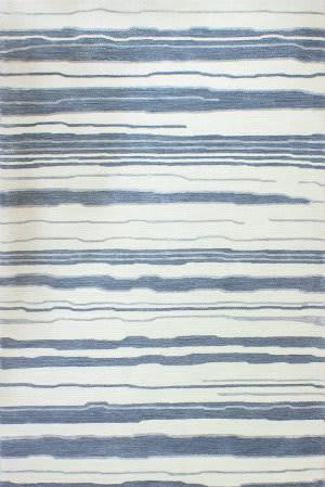 Bashian Greenwich R129-Hg347 Ivory - Blue Area Rug