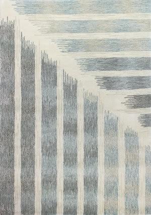 Bashian Greenwich R129-Hg370 Ivory - Grey Area Rug