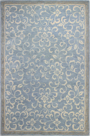 Bashian Greenwich R129-Hg325 Light Blue Area Rug