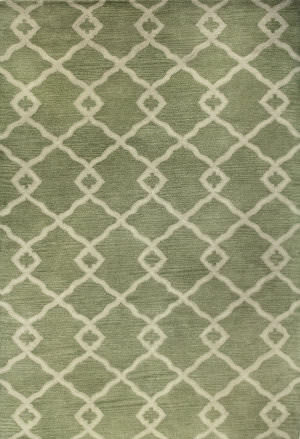 Bashian Greenwich R129-Hg265 Light Green Area Rug