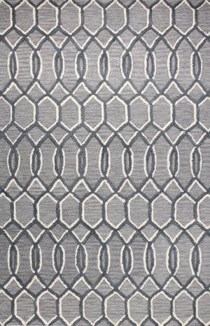 Bashian Verona R130-Lc153 Grey Area Rug