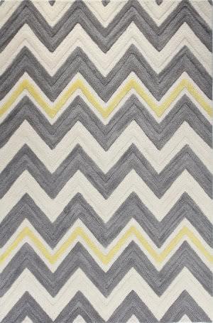 Bashian Verona R130-Lc135 Ivory - Grey Area Rug