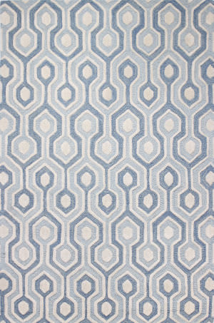 Bashian Verona R130-Lc144 Light Blue Area Rug