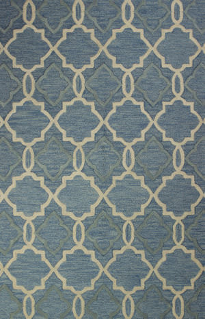Bashian Verona R130-Lc151 Light Blue Area Rug