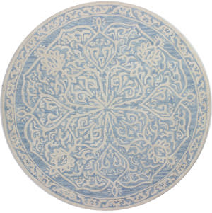 Bashian Verona R130-Lc158 Light Blue Area Rug