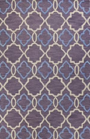 Bashian Verona R130-Lc151 Lilac Area Rug