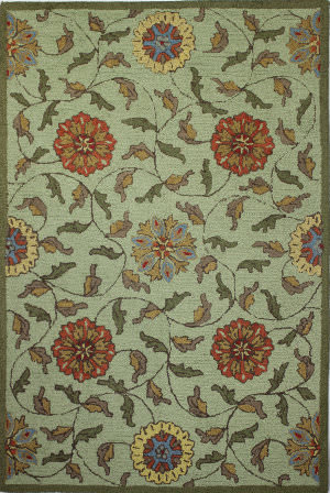Bashian Valencia R131-Bal138 Light Green Area Rug