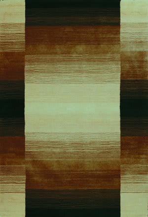 Bashian Contempo S176-Alm152 Chocolate Area Rug