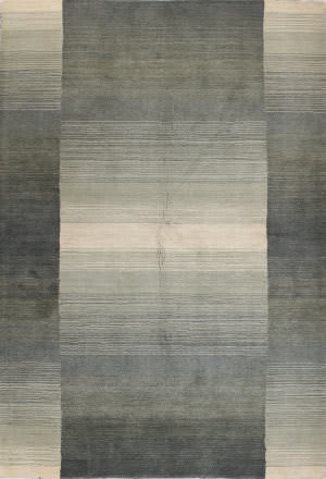 Bashian Contempo S176-Alm152 Light Green - Grey Area Rug