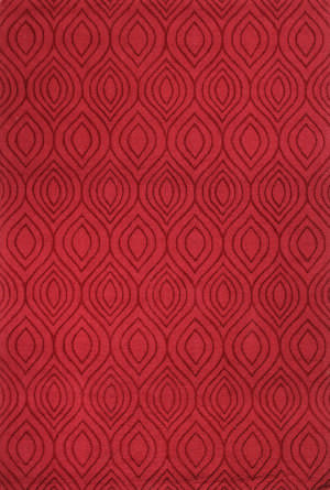 Bashian Soho S176-6-105 Red Area Rug