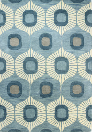 Bashian Chelsea S185-St103 Light Blue Area Rug