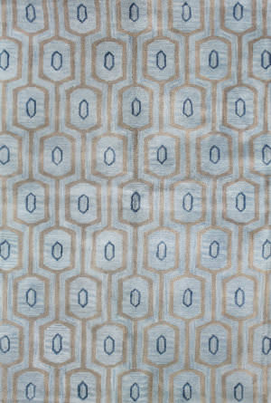 Bashian Chelsea S185-St263 Light Blue Area Rug