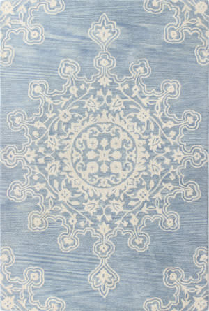 Bashian Chelsea S185-St266 Light Blue Area Rug