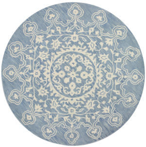 Bashian Chelsea S185-St267 Light Blue Area Rug