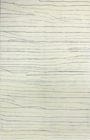 Bashian Norwalk S217-Vw223 Ivory-Blue Area Rug