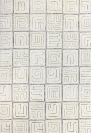 Bashian Norwalk S217-Vw202 White Area Rug