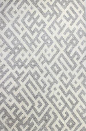 Bashian Norwalk S217-Vw205 White - Taupe Area Rug