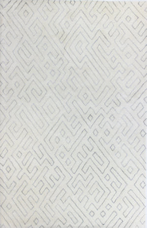 Bashian Norwalk S217-Vw205 White Area Rug