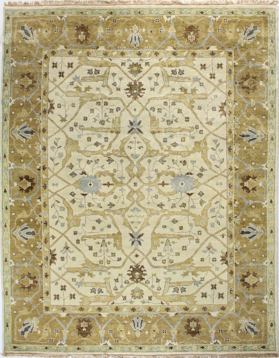 Bashian Vintage I123 Hsa101 Ivory Gold Rug Studio