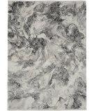 Calvin Klein Balian CK56 Silver - Black Area Rug