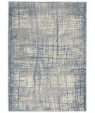 Calvin Klein Rush Ck950 Ivory Blue Area Rug