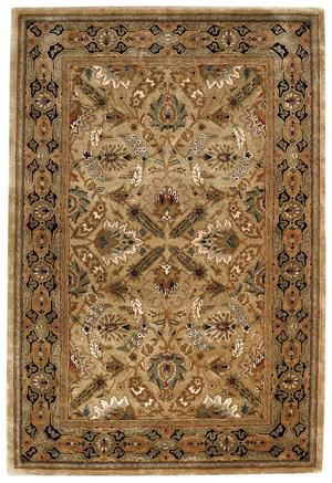 Rugstudio Sample Sale 43735R Dark Beige Area Rug