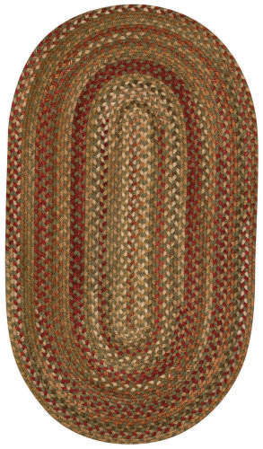 Capel Manchester 48 Sage - Red Area Rug
