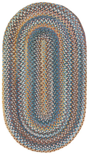 Capel Kill Devil Hill 210 Medium Blue Area Rug