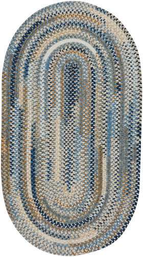Capel Habitat 302 Blue Area Rug