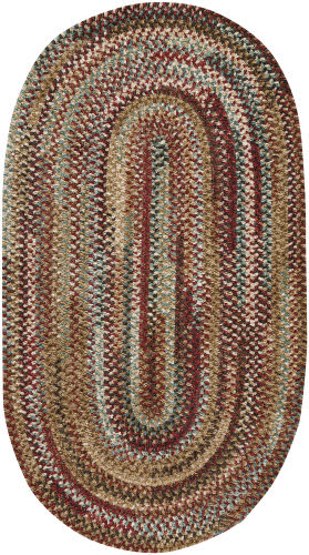 Capel Habitat 302 Deep Red Area Rug