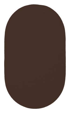 Capel Custom Classics 325 Chocolate Area Rug