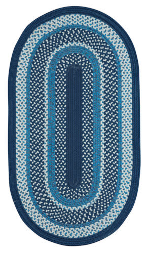 Capel Anthony Baratta Oceanic 382 Dark Blue Area Rug