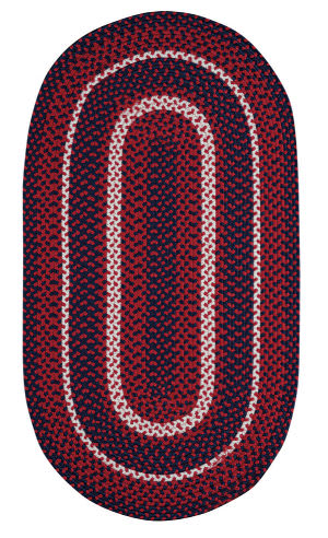 Capel Anthony Baratta Oceanic 382 Red Area Rug