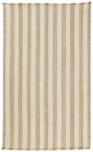 Capel Nags Head 404 Tan - White Area Rug