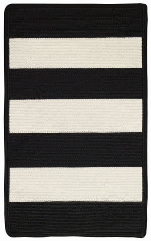 Capel Willoughby 848 Black - White Area Rug
