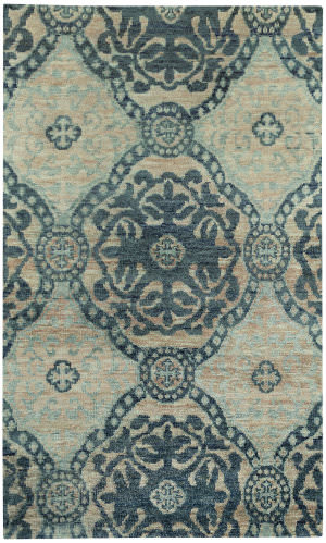 Capel Round About Ring Leader 1689 Blueberry Area Rug