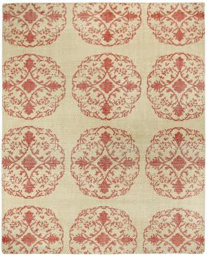 Capel Classic Mandala 1700 Cardinal Area Rug