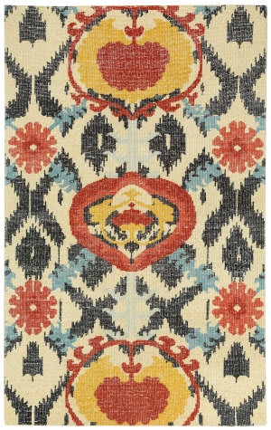 Capel Classic Oak 1704 Crimson Area Rug