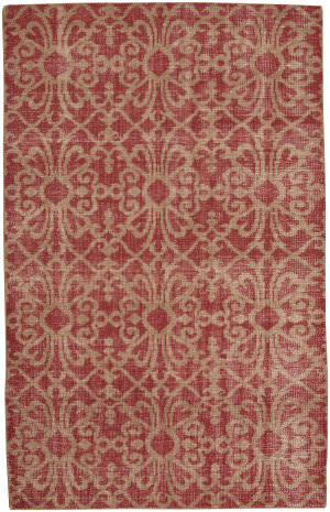 Capel Classic Courtyard 1710 Crimson Area Rug