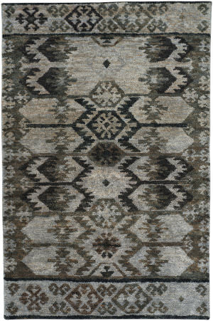Capel Striation 1718 Grey Area Rug