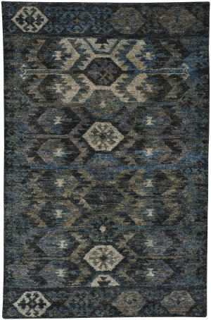 Capel Striation 1718 Blue Area Rug