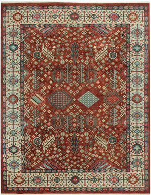 Capel Biltmore Heritage Shiraz 1903 Red Area Rug