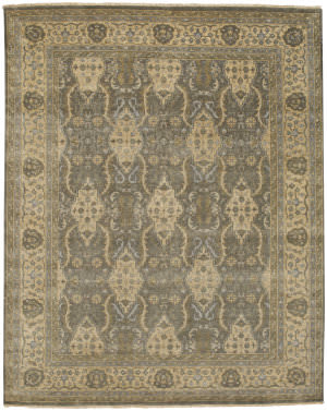 Capel Brandon 1908 Pewter Cream Area Rug