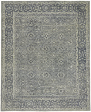 Capel Cannae 1941 Blue Area Rug