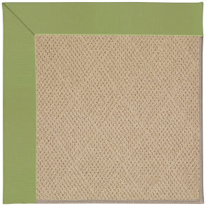 Capel Zoe Cane Wicker 1990 Green Area Rug