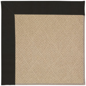 Capel Zoe Cane Wicker 1990 Ebony Area Rug