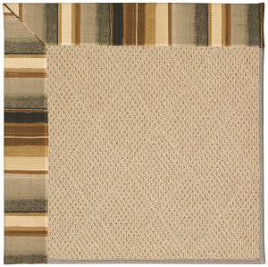 Capel Zoe Cane Wicker 1990 Cinders Area Rug